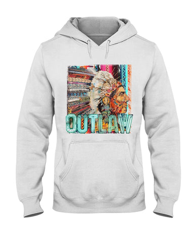 Indian Outlaw Hoodie Sweatshirt
