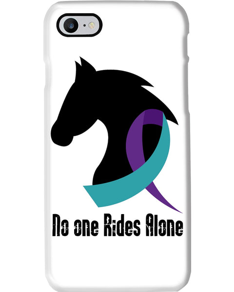 No one Rides Alone Phone cases