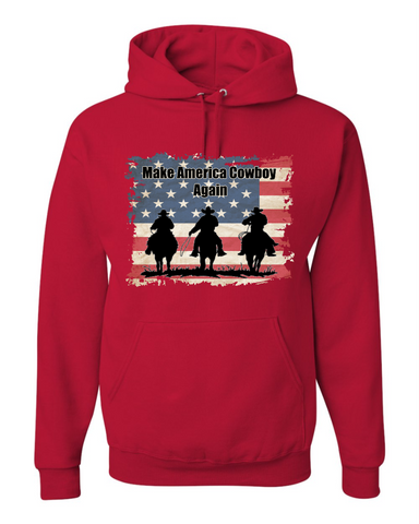 Make America Cowboy Again Hoodie Sweatshirt