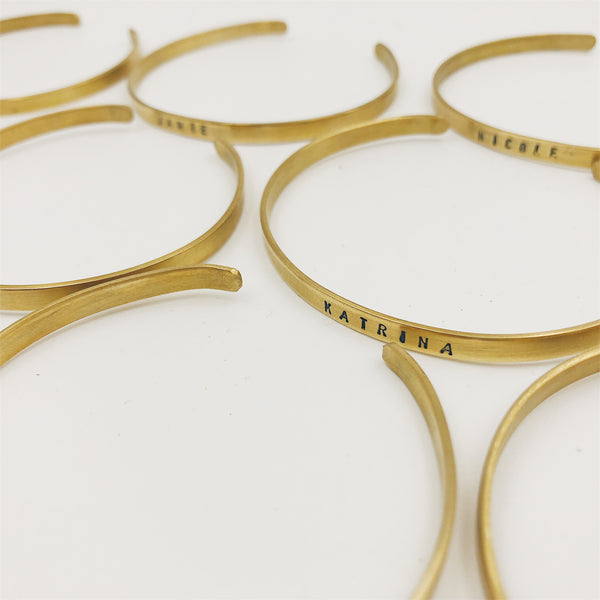 Brass Bangle Workshop - Oct 27 (11am-12nn)