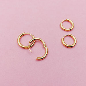 Petite Seamless Ear Hugger Hoop Earrings