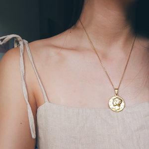 Liberty Medallion Necklace