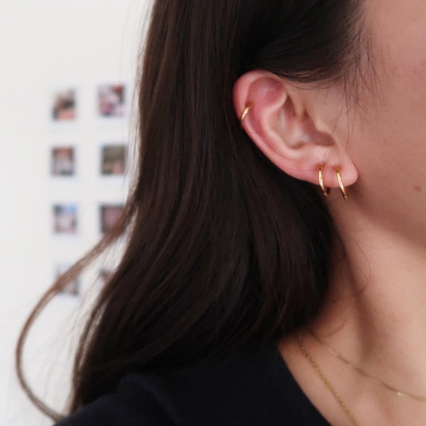 No-Pierce Hoop Earring