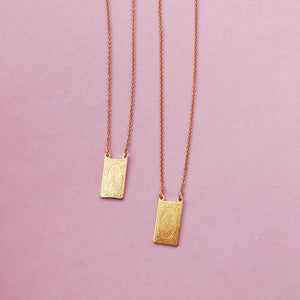 Scapular Medallion Necklace