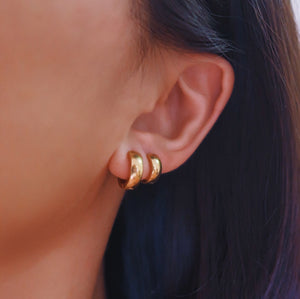 Ear Hugger Hoop Earrings