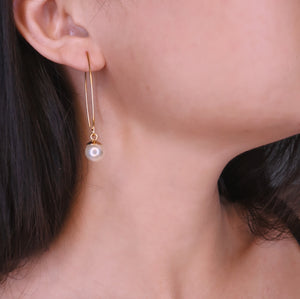 Pearl Dangler Earrings