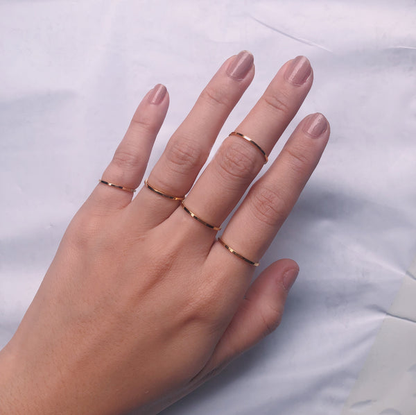 Gold Filled Skinny Ring