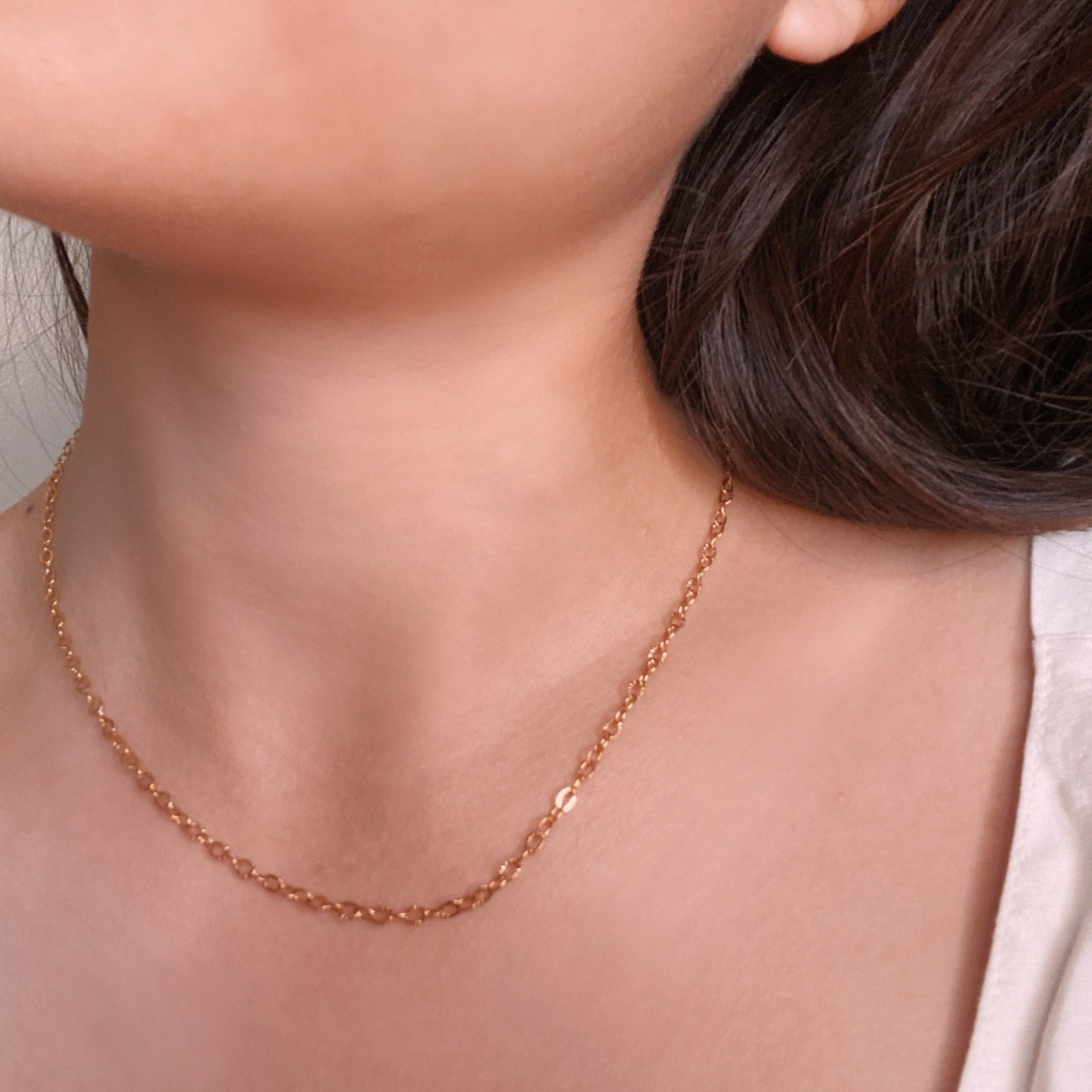 Cable Chain Gold Filled Necklace
