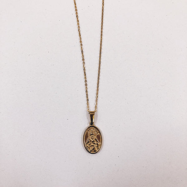 Jude Medallion Necklace