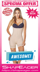 STR-SKU:8034 Shapewear made with high compression fabric. Burn fat and water for fast weight loss. Post surgery/partum.