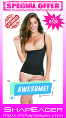 STR-SKU:8520 Cami Shaperr Shapewear Skin Care Bodysuit Breast Enhance T-Shirt Faja Colombiana