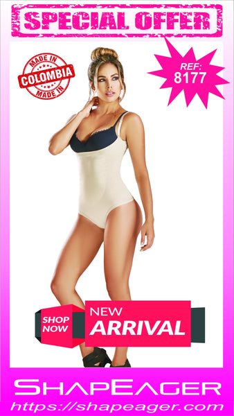 STR-SKU:8177 Women Light Shaper Thermal Panty Shapewear