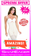WH-SKU:8534 From High-Waisted Waist Cincher down to full thigh cover