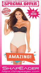 STR-SKU:8040 Shapewear Women High-Waisted Thong Type