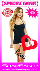 STR-SKU:8059 Women Shapewear T-SHIRT SEAMLESS STRAPS