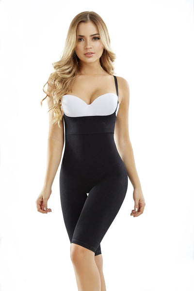 SKU:8065 Thigh-Hug braless body-shaper Faja-fit that flatters waist to all the way down