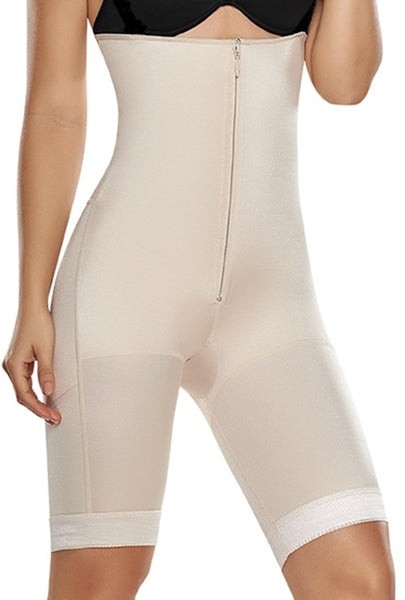 STR-SKU:8536 High Control Above the Waistline for a Slim Hourglass Figure Seamless Shaper Panty Thigh Cover Strapless