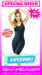 STR-SKU:8066 Thigh-Hug Full body-shaper Faja-fit that flattens from waist all the way down