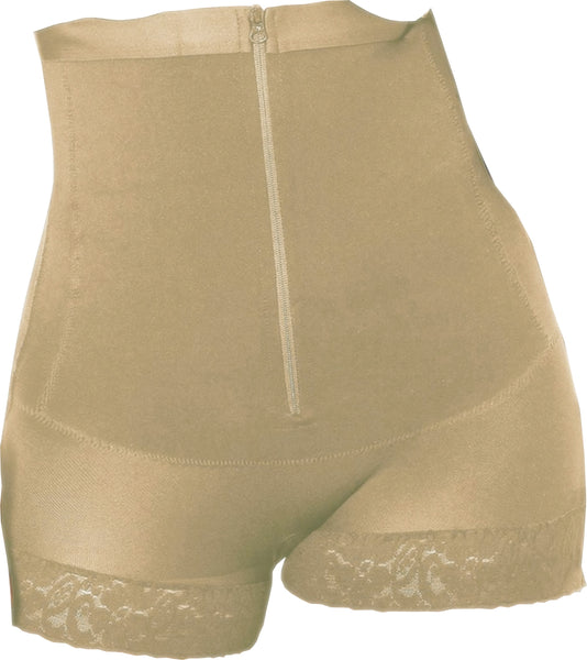 WH-SKU:9005 Women Shapewear PANTY THERMAL ZIPPER GIRDLE PLUS