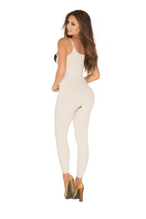 STR-SKU:8086 Full Body Shaper Open-Bust Capri