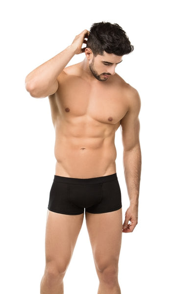 SKU:8077 Men's Boxer Body Shaper Butt Lifter Fajas Levanta Cola Push Up Short