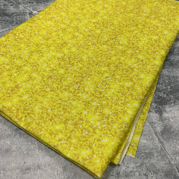 "PUL Sale - Yellow Faux Glitter - LARGE PIECE 40"" x WOF"