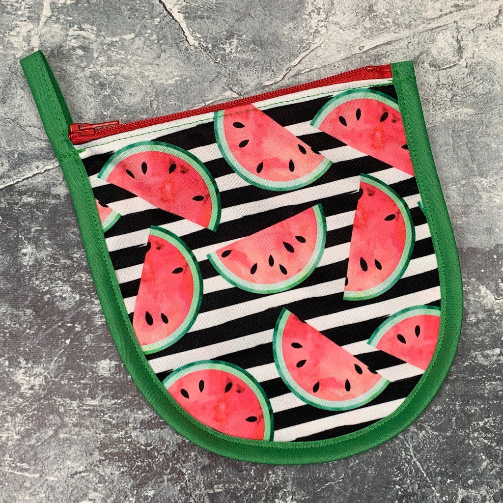 Tiny Pouch - Watermelon Stripe