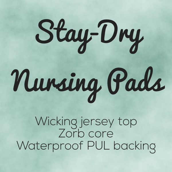 Stay-Dry Nursing Pads - Ready to ship! - Owl Be Green