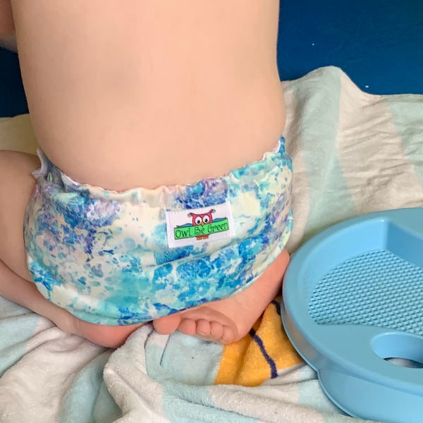 One-size Swim Diaper - Sea Foam