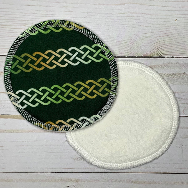 Celtic Knots Hybrid Nursing Pads - Ready to ship!