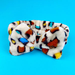 Colorful Leopard Headband