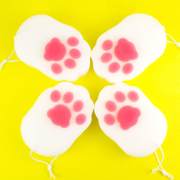 Kitty Cat Paw Bath Sponge