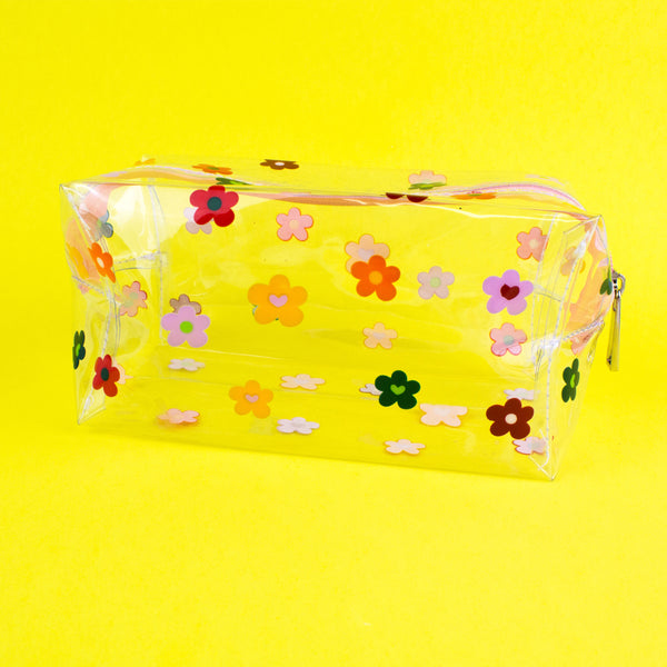 Daisy Toilettry Flower Bag