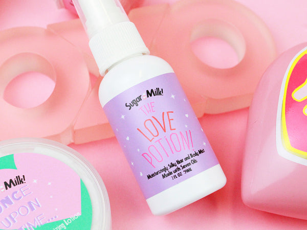 The Love Potion Hair and Body Mist - Sugar Milk Co.