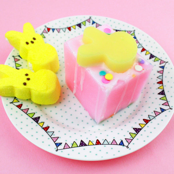 Confetti Marshmallow Cake Soap Bar