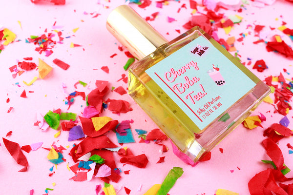 Cherry Boba Tea Perfume Oil