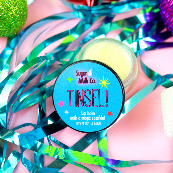 Tinsel Lip Balm