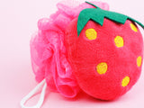 Strawberry Loofah Sponge - Sugar Milk Co.