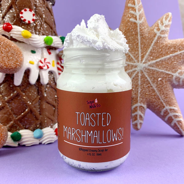 Toasted Marshmallows Whipped Soap