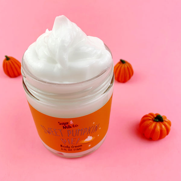 Sweet Pumpkin Pie Body Cream