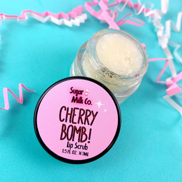 Cherry Bomb Lip Scrub