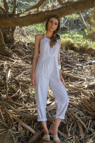 VALENTINA JUMPSUIT IN WHITE