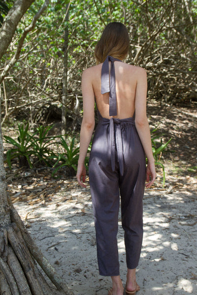 VALENTINA JUMPSUIT IN NAVY
