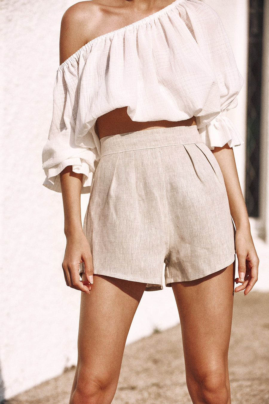 HARPER SHORTS - NATURAL