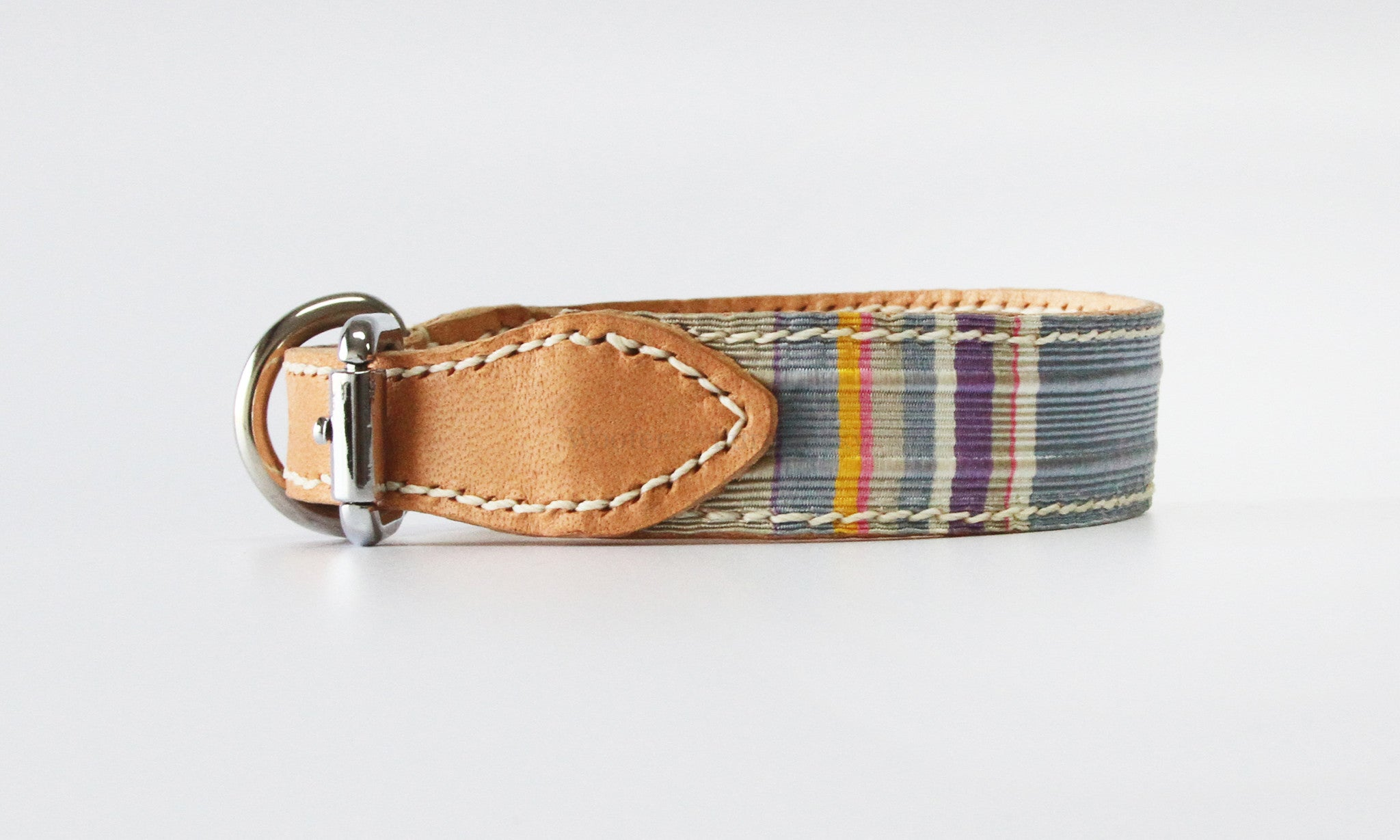 Orion Vintage Ribbon Leather Collar