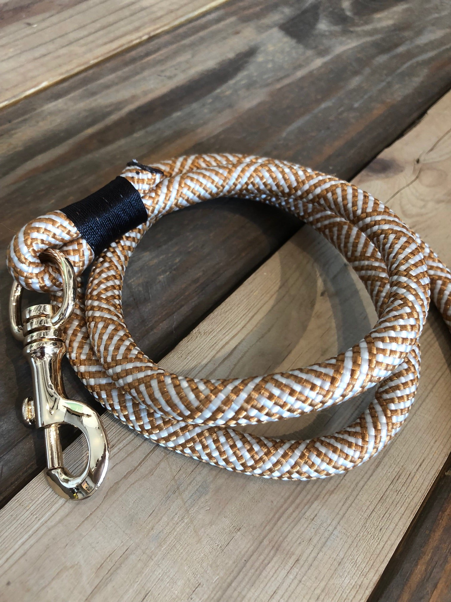 Christie Climbing Rope Leash - Woofs Gold