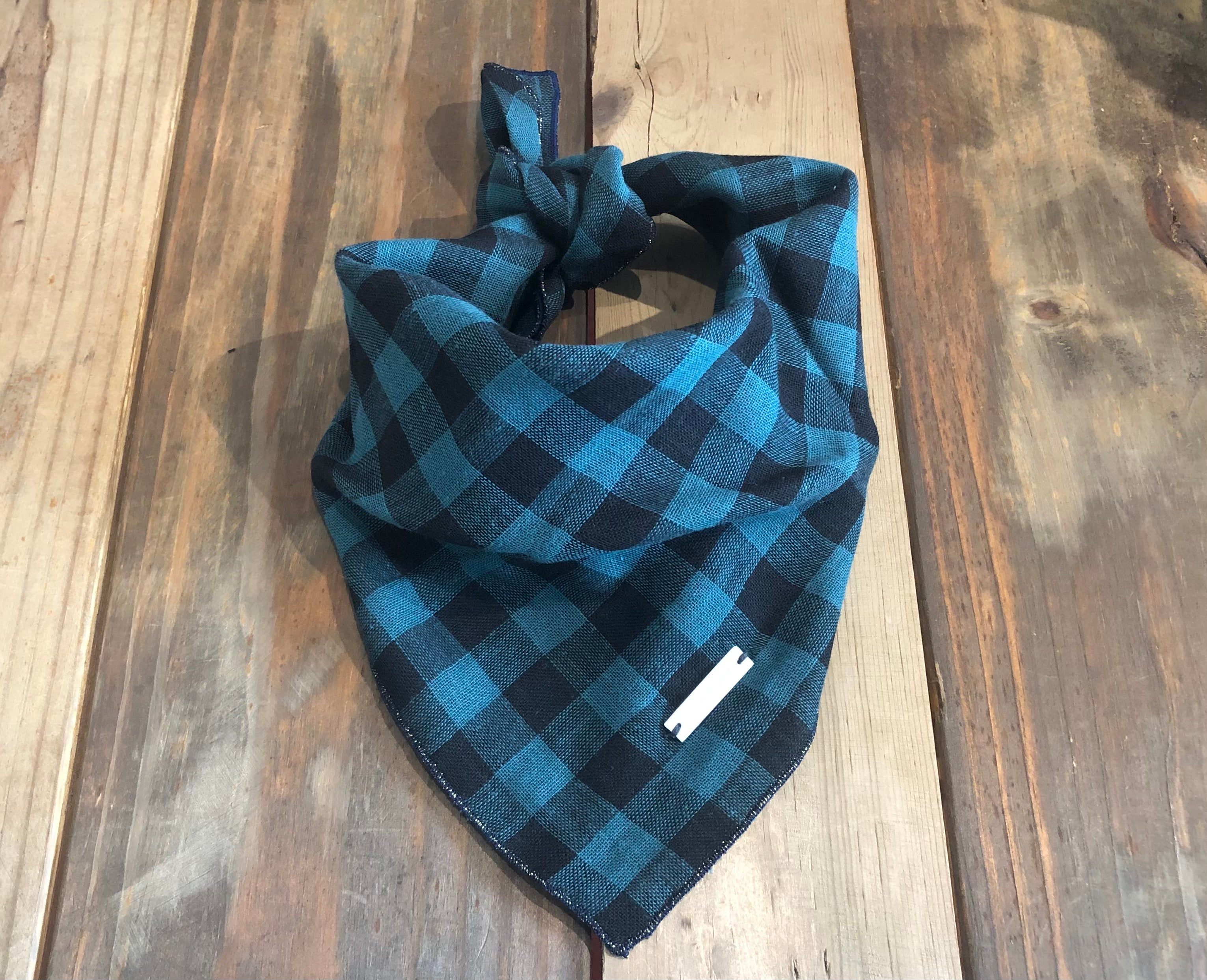 Premium Bandana - Plaid Forest