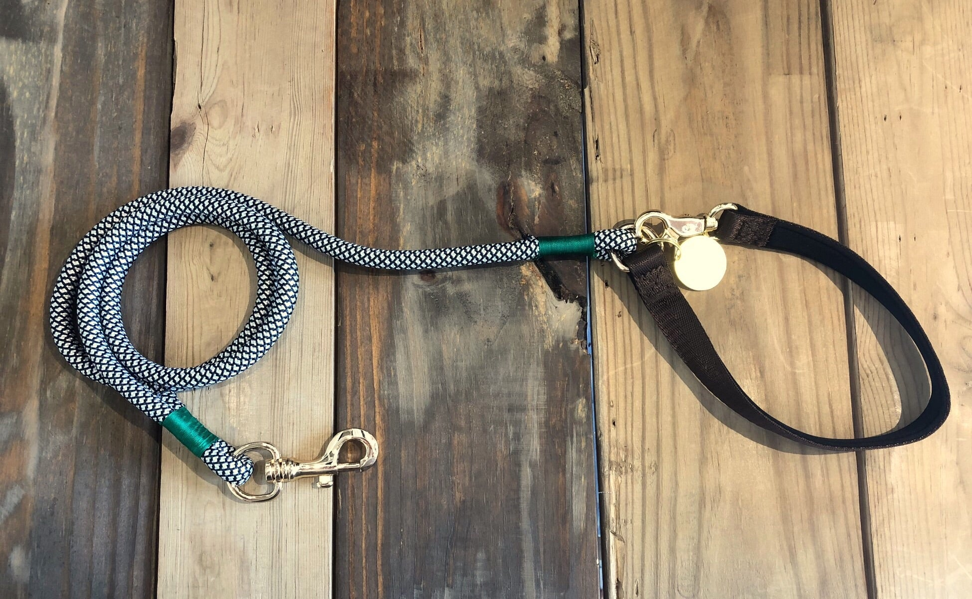 Christie Climbing Rope Leash - Wildest Green