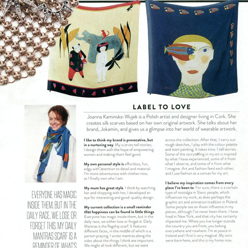 LABEL TO LOVE - thank you IMAGE magazine :)