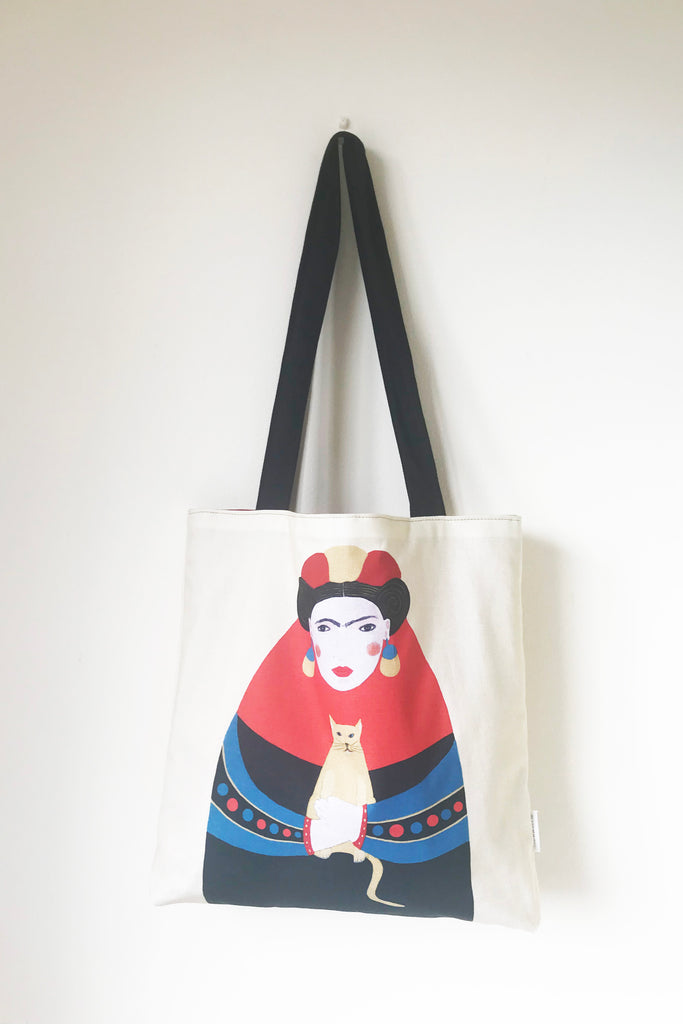 Frida tote bag Book - Jokamin